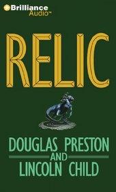 Relic (Pendergast, Bk 1) (Audio CD) (Abridged)