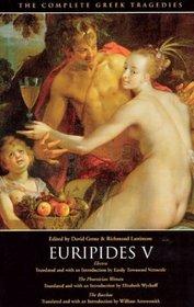 The Complete Greek Tragedies: Euripides V