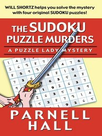The Sudoku Puzzle Murders: A Puzzle Lady Mystery (Thorndike Press Large Print Mystery Series)