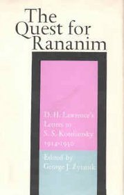 Quest for Rananim: Letters to S.S.Koteliansky, 1914-30