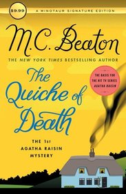 The Quiche of Death: The First Agatha Raisin Mystery (Agatha Raisin Mysteries)