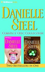 Danielle Steel CD Collection 4: Big Girl, Family Ties