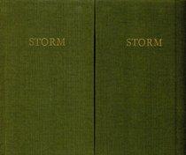 Storms Werke in zwei B�nden