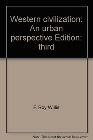 Western civilization: An urban perspective