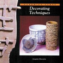 Decorating Techniques (Ceramics Class)