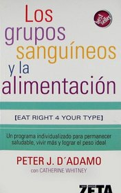 Grupos sanguineos y la alimentacion, Los (Salud Y Bienestar/ Health and Well-Being)