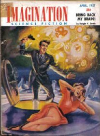 Imagination Science Fiction, April 1957 (Volume 8, No. 2)