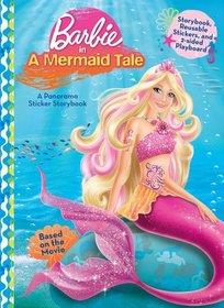 Barbie in A Mermaid Tale (Barbie Panorama Sticker Book)