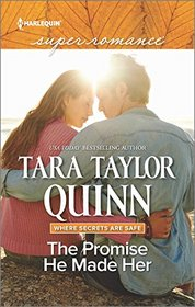 The Promise He Made Her (Where Secrets are Safe, Bk 9) (Harlequin Superromance, No 2041) (Larger Print)