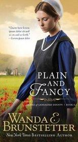 Plain and Fancy (Brides of Lancaster County, Bk 3)
