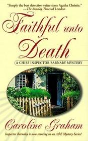 Faithful Unto Death (Chief Inspector Barnaby, Bk 5)