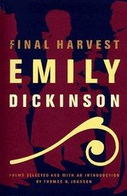 Final Harvest : Poems