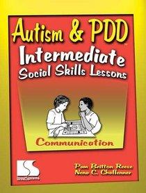 Autism & PDD Intermediate Social Skills Lessons: Communication