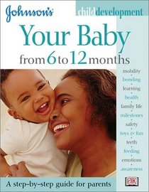 Johnson's Child Development: Your Baby from 6 to 12 Months (Johnson's Child Development)