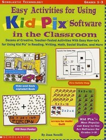 Easy Activities for Using Kid Pix Software in the Classroom