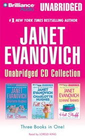 Janet Evanovich CD Collection: Full Bloom / Full Scoop / Hot Stuff (Audio CD) (Unabridged)