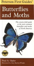 Peterson First Guide to Butterflies and Moths (Peterson First Guides(R))