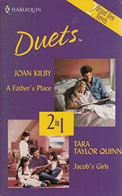 Jacob's Girls / A Father's Place (Harlequin Duets)