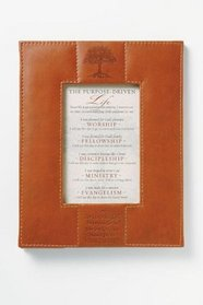 The Purpose Driven� Life Framed Covenant Leather-Look