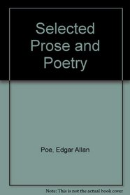 Selected Prose and Poetry (Rinehart editions, 42)
