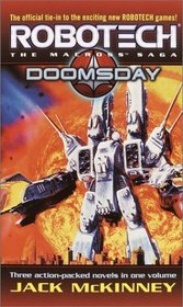 Robotech: The Macross Saga: Doomsday (Robotech 3-In-1)