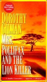 Mrs. Pollifax and the Lion Killer (Mrs Pollifax, Bk 12) (Audio Cassette) (Abridged)