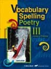 Vocabulary, Spelling, and Poetry III Teacher Quiz Key