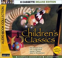 Children's Classics (The Wizard of Oz / The Jungle Book / Alice in Wonderland / Aesop's Fables) (Audio Cassette) (Unabridged)