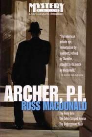 Archer, P. I.: The Ivory Grin / The Zebra Striped Hearse / The Underground Man (Lew Archer, Bks 4, 10, 16)