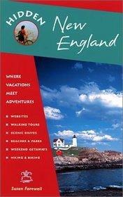 Hidden New England: Including Connecticut, Maine, Massachusetts, New Hampshire, Rhode Island  Vermont (Hidden New England, 7th ed)