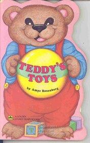 Teddy's Toys (Golden Sturdy Shape Book)