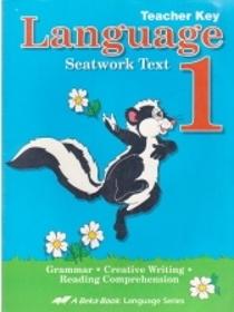 Abeka Language Seatwork Text Grade 1 Teacher Key
