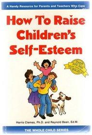 How to Raise Children's Self-Esteem