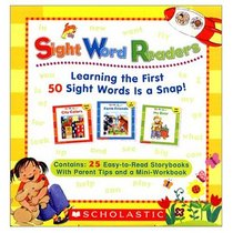 Sight Word Readers: Learning the First 50 Sight Words is a Snap! (Sight Word Readers)