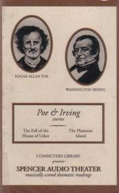 The Fall of the House of Usher and The Phantom Island (Commuters Library - Spencer Audio Theater, Poe & Irving Stories)