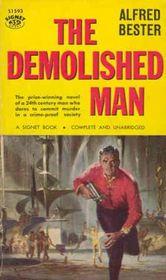 The Demolished Man (Signet SF, 1105)