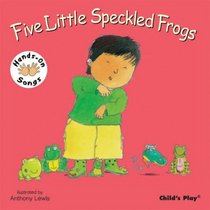 Five Little Speckled Frogs (Hands-On Songs) (BSL) (Hands on Songs)