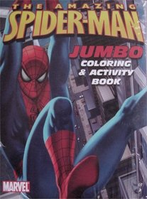 The Amazing Spider-Man Jumbo Coloring 3 Book Set