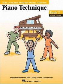 Piano Technique Book 3 (Hal Leonard Student Piano Library) (Hal Leonard Student Piano Library (Songbooks))