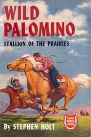 Wild Palomino Stallion of the Prairies