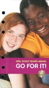 Go For It! Girl Scout silver award for  studio2B binder