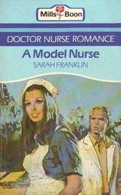 A model nurse (Doctor nurse romance)