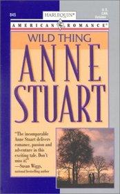 Wild Thing (Harlequin American Romance, No 845)