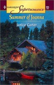 Summer of Joanna (Harlequin Superromance, No 995)