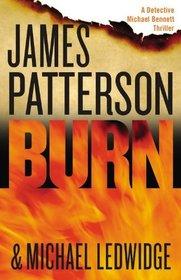 Burn (Michael Bennett, Bk 7) (Large Print)