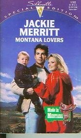 Montana Lovers (Made in Montana, Bk 3) (Silhouette Special Edition, No 1065)