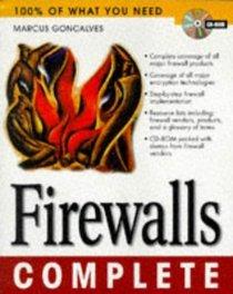 Firewalls Complete (Complete Series)
