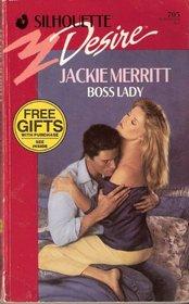 Boss Lady (Silhouette Desire, No 705)