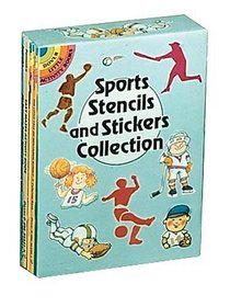 Sports Stencils and Stickers Collection