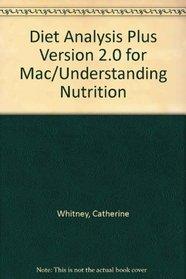 Diet Analysis Plus Version 2.0 for Mac/Understanding Nutrition